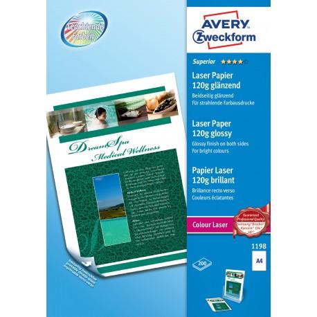 Avery Zweckform 1198 fényes fotópapír 120g - os A4