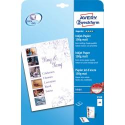 Avery Zweckform 2599 matt fotópapír 150g - os A4