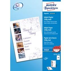 Avery Zweckform 2579-100 matt fotópapír 150g - os A4