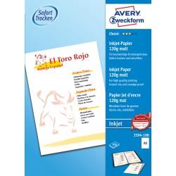 Avery Zweckform 2594-100 matt papír A3 120g - os