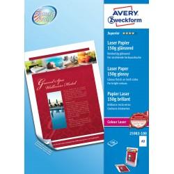 Avery Zweckform 25983-100 kétoldalas fényes papír 150g - os A3