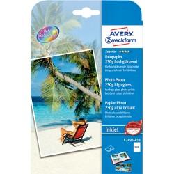 Avery Zweckform C2495-45R magasfényű fotópapír 230g - os 13x18cm