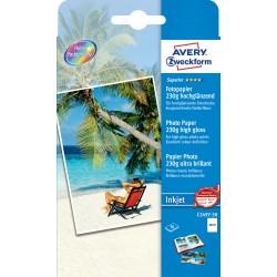 Avery Zweckform C2497-50 magasfényű fotópapír 230g - os 10x15cm