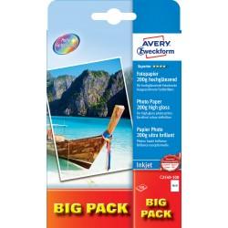 Avery Zweckform C2549-100 magasfényű fotópapír 200g - os 10x15cm