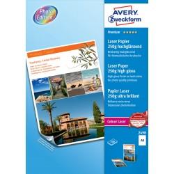 Avery Zweckform 2498 fényes fotópapír 250g -os A4