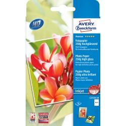 Avery Zweckform C2550-50 magasfényű fotópapír 250g - os 10x15cm