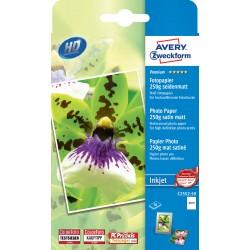 Avery Zweckform C2552-50 selyemfényű fotópapír 250g - os 10x15cm