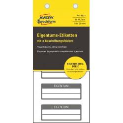 Avery Zweckform 6923 öntapadó biztonsági nyilvántartó címke 50 x 20 mm