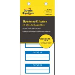 Avery Zweckform 6924 öntapadó biztonsági nyilvántartó címke 50 x 20 mm