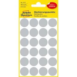 Avery Zweckform 3171 öntapadó jelölő címke -  szürke, 18 mm