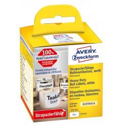 Avery Zweckform A1976414 időjárásálló tekercses címke 59 x 102 mm