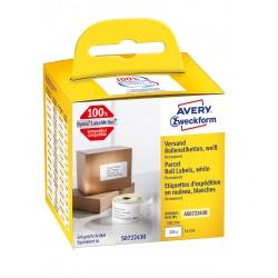 Avery Zweckform AS0722430 tekercses öntapadó címke, thermo nyomtatóhoz 101 x 54 mm