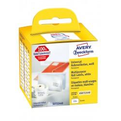 Avery Zweckform AS0722440 tekercses öntapadó címke, thermo nyomtatóhoz  70 x 54 mm
