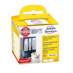 Avery Zweckform AS0722470 tekercses öntapadó címke, thermo nyomtatóhoz 190 x 38 mm