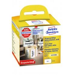 Avery Zweckform A1933084 időjárásálló tekercses címke 57 x 32 mm