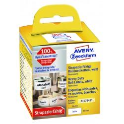 Avery Zweckform A1976411 időjárásálló tekercses címke 25x 54
