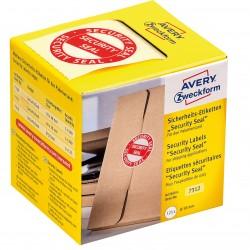 """Avery Zweckform 7312 biztonsági zárócímke """"Security Seal"""" 38 átmérő"""