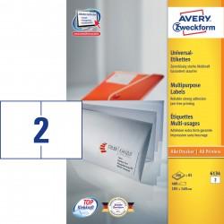 Avery Zweckform 6134 univerzális címke DIN A5, 105 x 148 mm