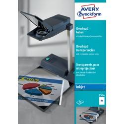 Avery Zweckform 2504 írásvetítő fólia tintasugaras nyomtatóhoz , érzékelő csíkkal