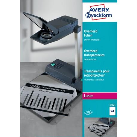 Avery Zweckform 3563 extra hőálló írásvetítő fólia