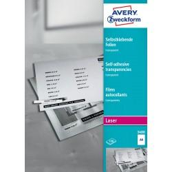 Avery Zweckform 3480 öntapadó fólia lézer nyomtatóhoz
